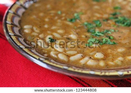 Beans food - healthy traditional bulgarian food