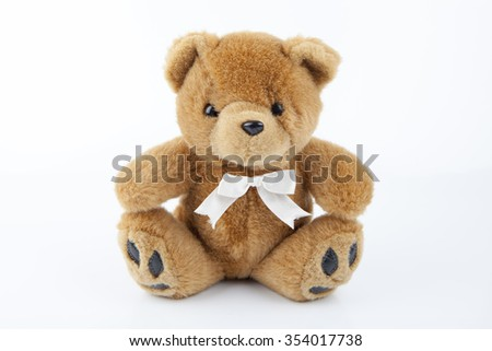 Bear toy - stock photo