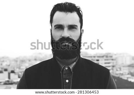Terrific Long Beard Stock Photos Royalty Free Images Amp Vectors Shutterstock Short Hairstyles Gunalazisus