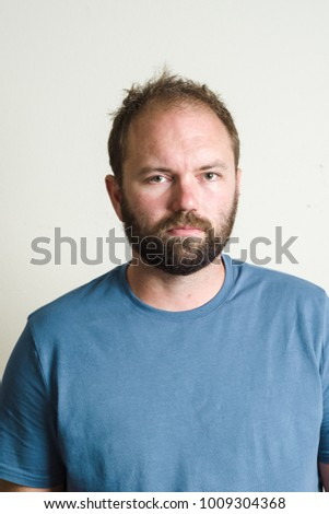 Bearded Man Headshot Portrait