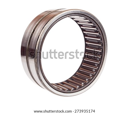 Bearing for industry on the white background - stock photo