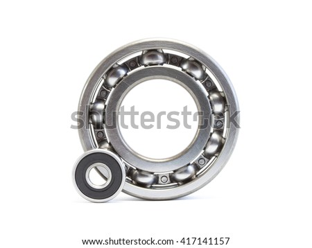 Bearings isolated on white