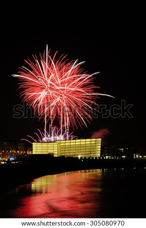 Beatifico fireworks