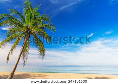 Beatiful Karon beach at Phuket, Thailand. Asia  - stock photo