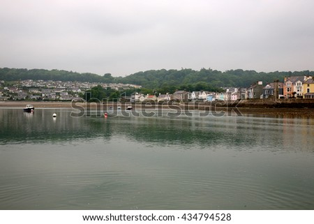 Beaumaris on the Isle of Anglesey, North Wales, United Kingdom