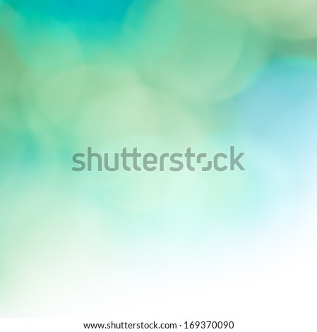 Beautiful abstract background in blue and green - stock photo