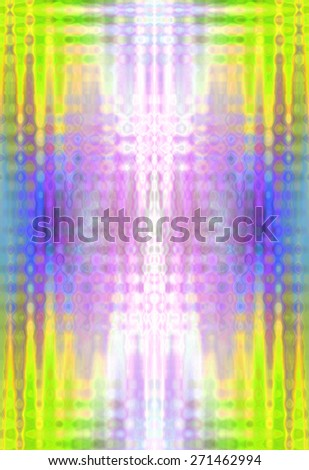 Beautiful abstract background in multi color with wavy style