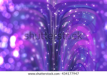 beautiful abstract background multicolored bokeh circles. Christmas background.