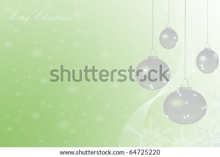 Beautiful abstract background of Christmas decoration