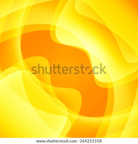 beautiful abstract background of delicate golden-brown waves - stock photo