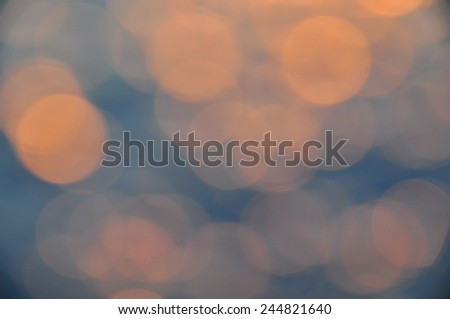 Beautiful abstract background of sunset or sunrise background, Background for support presentation file. - stock photo