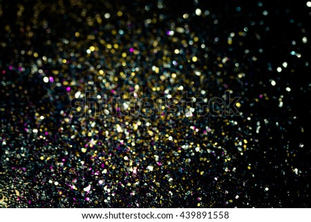 Beautiful abstract bokeh lights for background