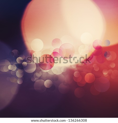 Beautiful abstract bokeh over bright backgrounds for your design - stock photo