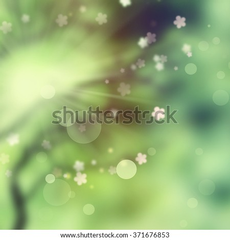 Beautiful abstract natural background.