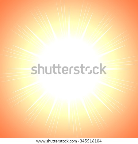Beautiful abstract starburst background