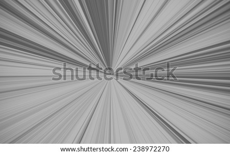 Beautiful abstract starburst background, black and white - stock photo