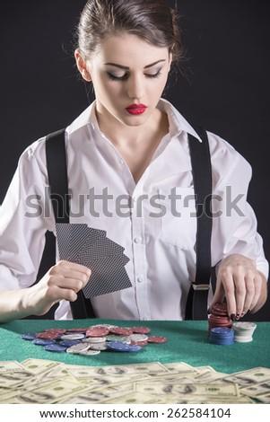 Gangster poker player