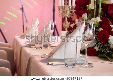 Beautiful and Luxurious Wedding Table Setting