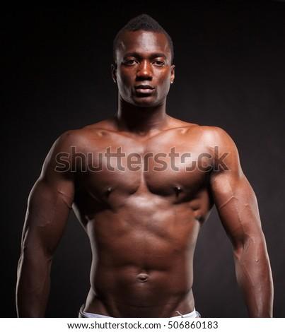Nude muscular black men photos