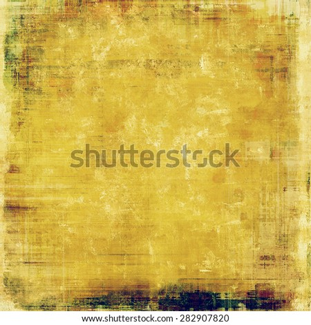 Beautiful antique vintage background. With different color patterns: yellow (beige); brown; purple (violet) - stock photo