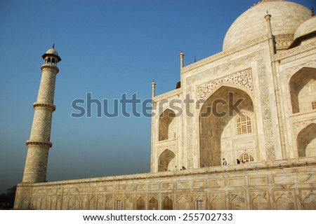 Beautiful architect of Taj Mahal, Landmark of India