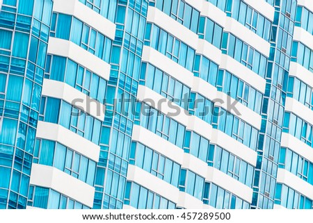 Beautiful architecture and building pattern