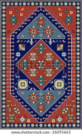Beautiful Armenian Carpet