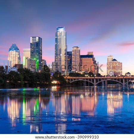 A description of a beautiful city of austin texas
