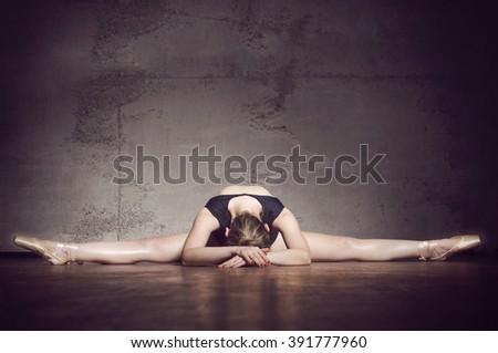 Beautiful Ballet dancer - stock photo
