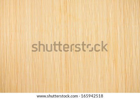 Beautiful bamboo mat, can be used as background - stock photo