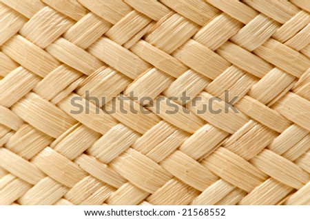 beautiful basket texture for use as background - stock photo