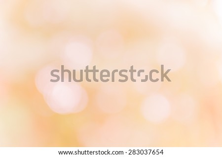 Beautiful bokeh soft background from the nature