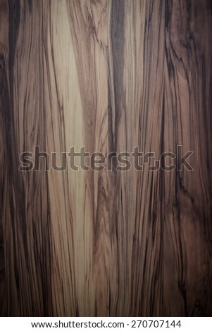 Beautiful brown wood texture - stock photo