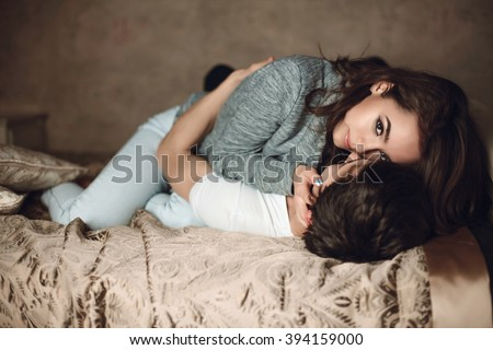 Guy On Top Of Girl Sex