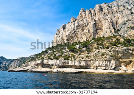 Beautiful Calanque near Cassis