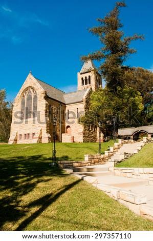 Beautiful catholic church  - stock photo