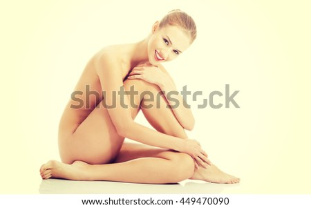 Beautiful caucasian naked woman