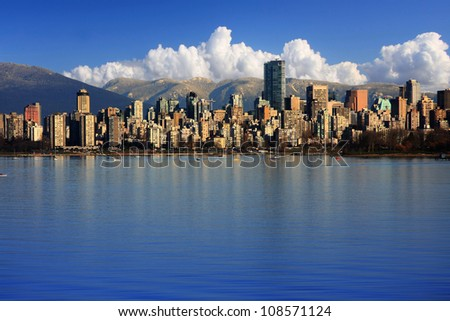 Beautiful city of Vancouver, Canada. - stock photo