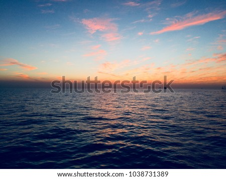 Beautiful Cloudssunrise Sunset HD Wallpaper For Mobile And Desktop Offshore Sunrise View