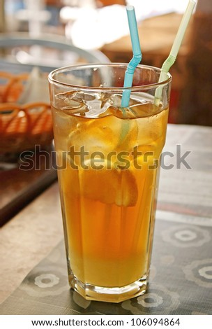 Beautiful  cold drink