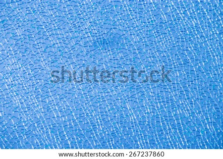 beautiful color glass fracture - stock photo