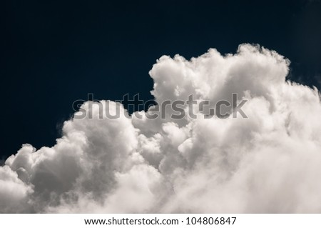 Beautiful colored sky background with clouds
