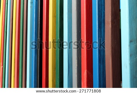 Beautiful coloured strips