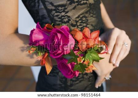Beautiful Corsage - stock photo