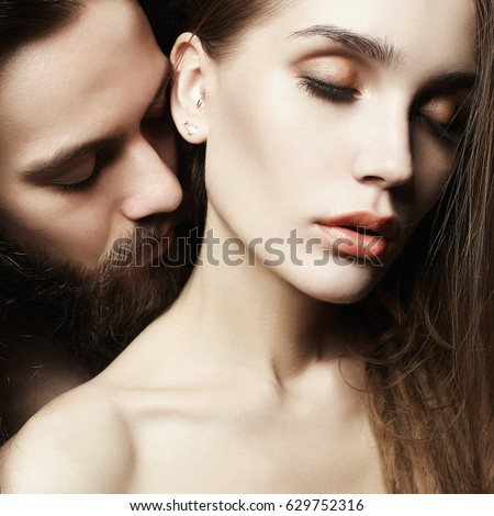 Sexy photo of boy and girl
