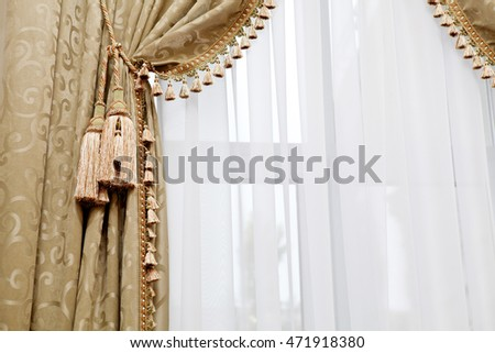 Window Drapes Stock Images, Royalty-Free Images & Vectors ...