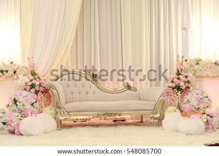 Beautiful decoration setup wedding ceremony stock photo edit now beautiful decoration setup for wedding ceremony junglespirit Choice Image