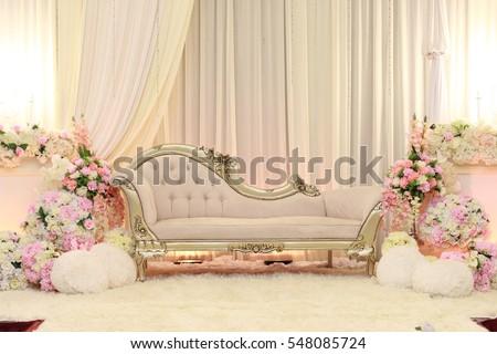 Beautiful decoration setup wedding ceremony stock photo 548085724 beautiful decoration setup for wedding ceremony junglespirit Image collections