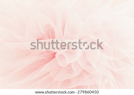 Beautiful delicate pink fabric background  - stock photo