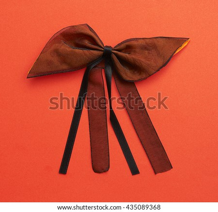 beautiful designed ribbons and colorful background